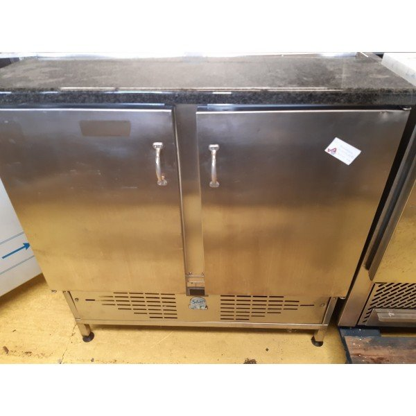 Marble top pizza cooler Refrigerated bench / table
