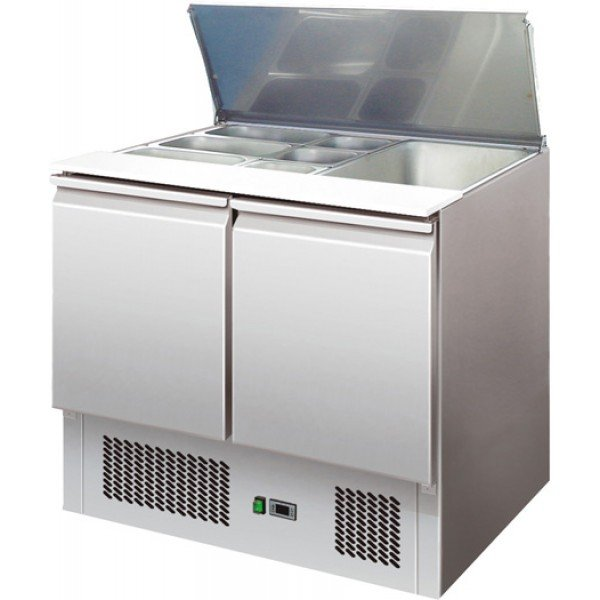 Forcar S900 Cold salad table, open lid Refrigerated bench / table