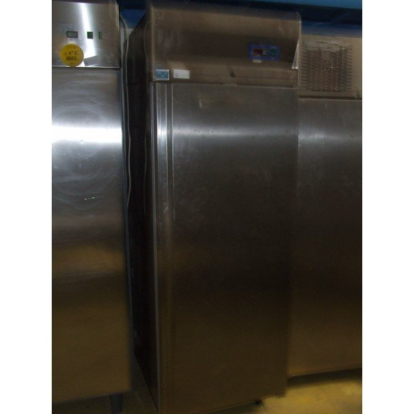 May Way Stainless steel 600 liter refrigerator background Background coolers