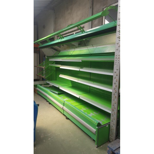 Refrigerated vegetable stand Shelving systems