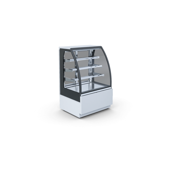 Igloo Petro 0.6 - Front fixed glass cooler - With internal cooling unit Glass door fridges