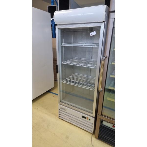 Crown Cool glass door refrigerated display case - 370 liters Glass door fridges