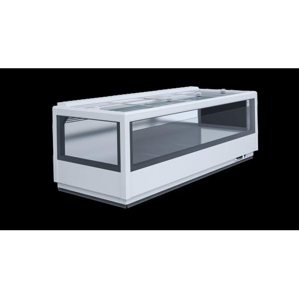 Igloo Advanta 2.50-mod / C - freezer / cooling island Glass door fridges