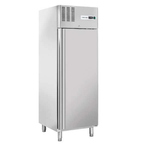 Stainless steel freezer cabinet 550 L - Cool Head RN640 Freezing cabinets