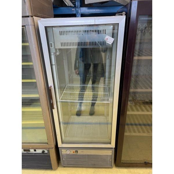 Double door freezer display case Freezing cabinets