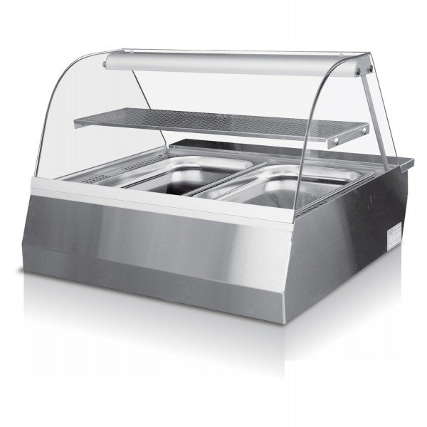 Igloo Celina 80 - a watertight warm-up storage booth Counter top