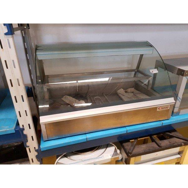 Bent glass warmers 3xGN1 / 1-100 - Mutfakci Counter top