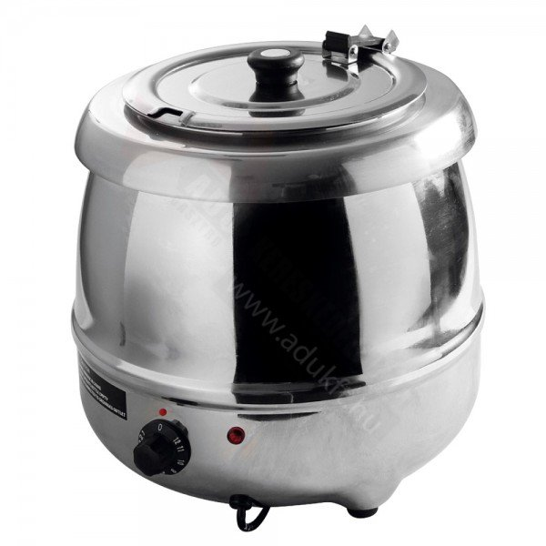 LUX electric soup kettle - stainless steel Soup warmers