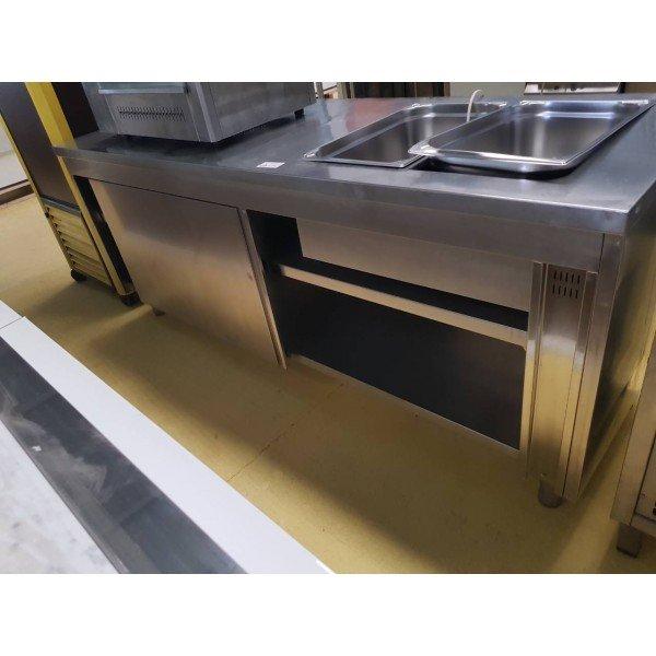 2xGN 1/1 heat exchanger - 210x70 Warming Panel