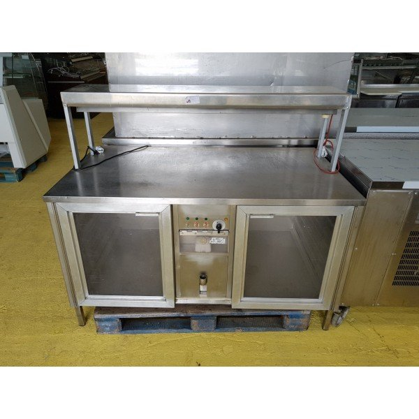 Kitchen warmers with thermal bridge Plate warmer