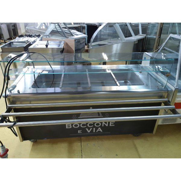Zanussi 4x GN1 / 1 heater Warming Panel