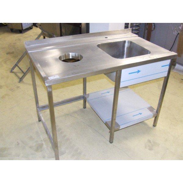 Inertia / poo table  Under counter dishtables