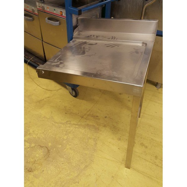 Falling stainless steel table Under counter dishtables