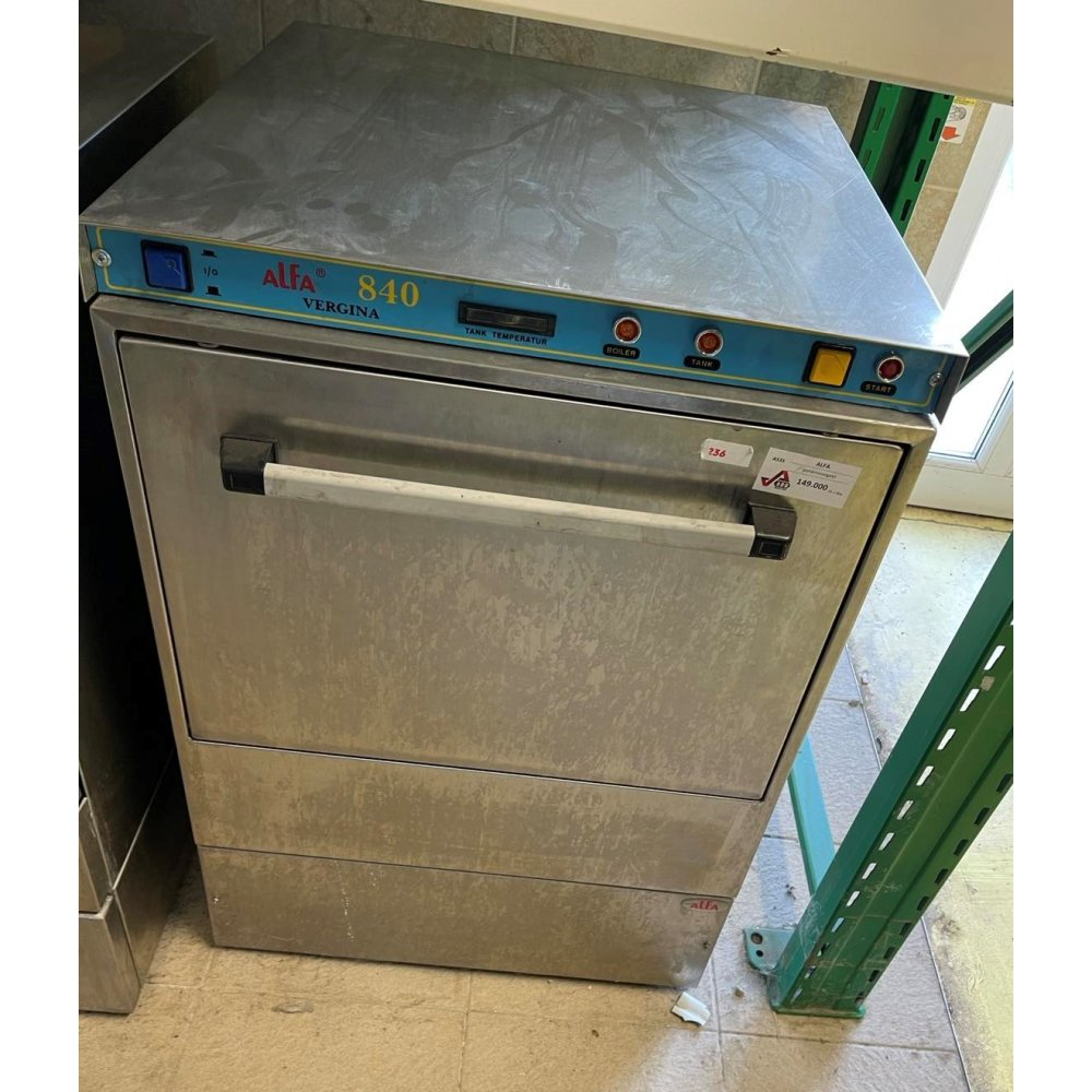 Alfa 840 industrial dishwasher Dishwashers