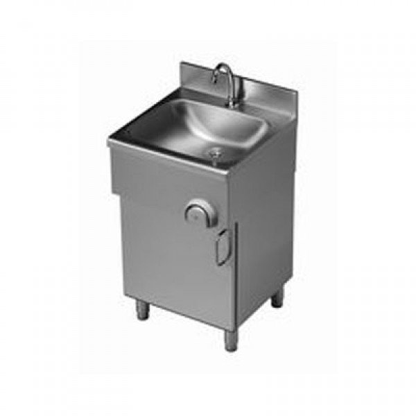 Standing sink knee and lower switch cabinet Wall mount handwash sink