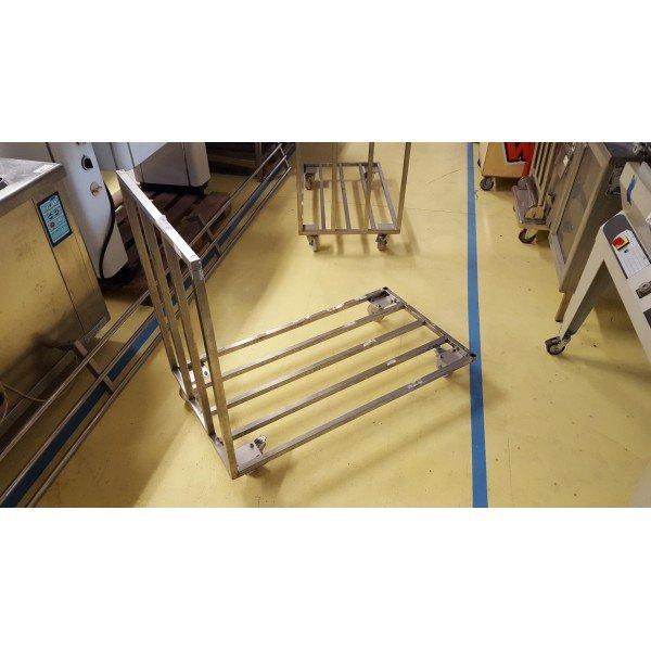 Goods trolley - Inox Trolley