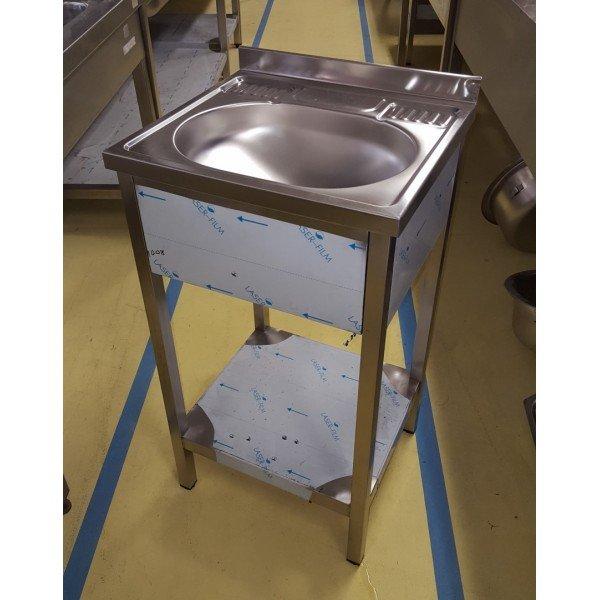 Standing sink base shelf Sinks