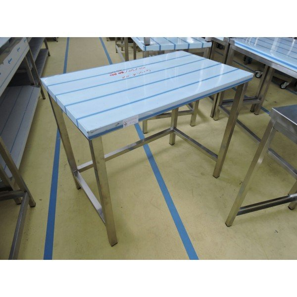 Stainless steel table 120x60 cm Stainless steel tables
