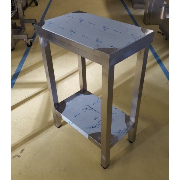 Narrow table 54,5x34 Stainless steel tables