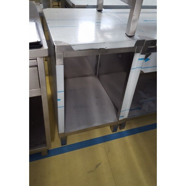 Stainless neutral panel 50x65 cm Stainless steel tables