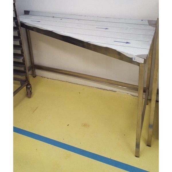 Corner tables 147x68,5 Stainless steel tables