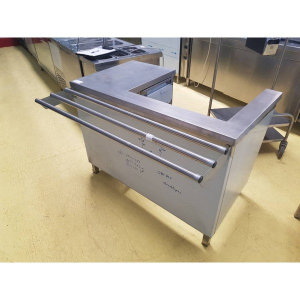 Stainless steel cash desk Checkout Counters