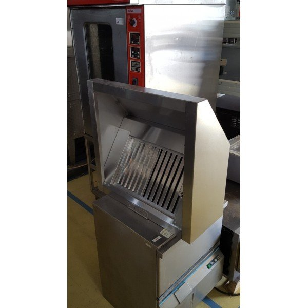 Wall Suction Hood - 72x71x31 cm Stainless steel extraction hood