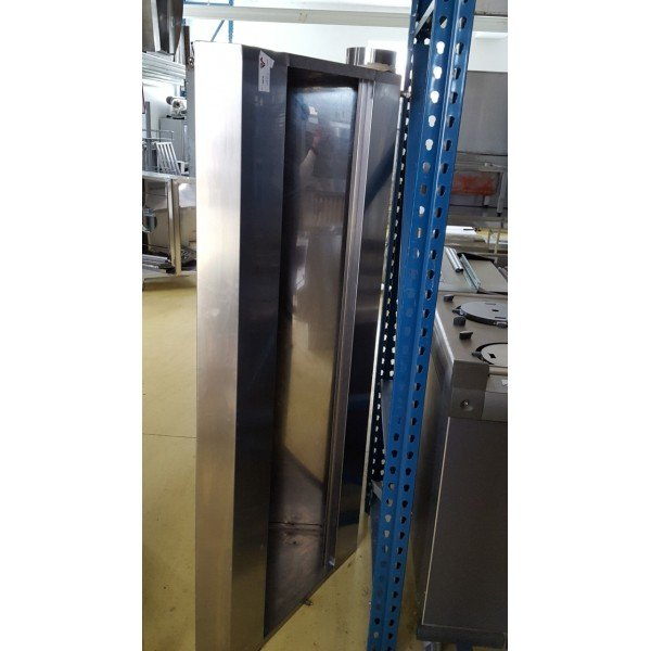 Wall snack hood - 170x70x50 cm Stainless steel extraction hood