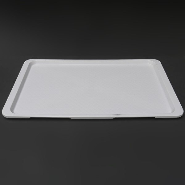 Plastic tray GN1 / 1 - White  Plates