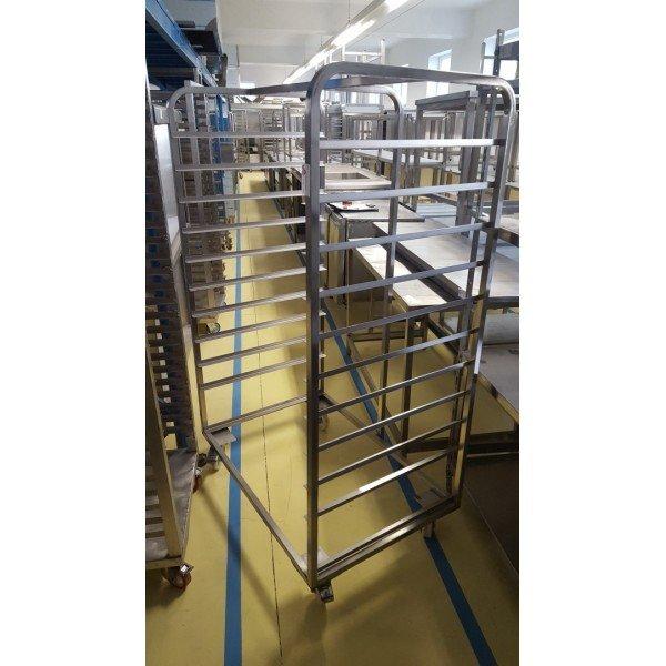Tray Stand 10x 99x69 cm Tray trolley