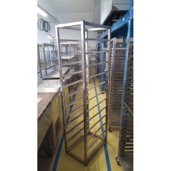 Tray Stand 11x 36x61cm Tray trolley