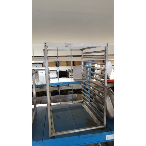 Tray Stand 12xGN1 / 1 Tray trolley