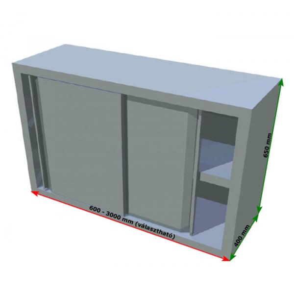 Sliding door wall cabinets 650 x 400 x 600-3000mm Cabinets