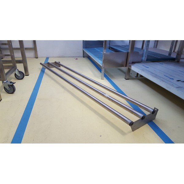 Stainless steel tray slides 161 cm Other
