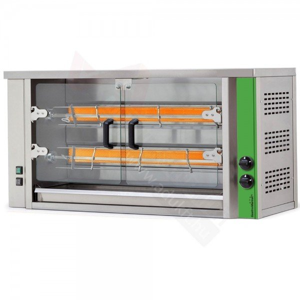 GME2 - Electric grill chicken oven - 8-10 chickens Barbecue chicken oven