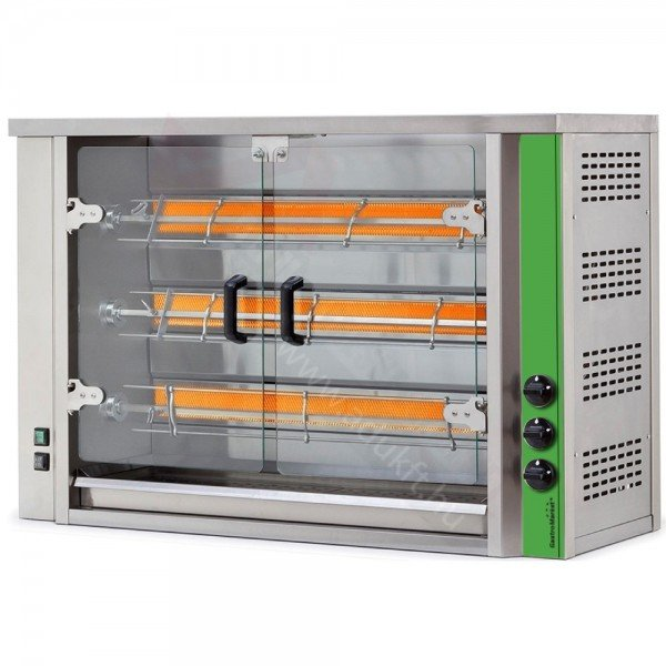 GME3 - Electric grill chicken oven - 12-15 chicken Barbecue chicken oven