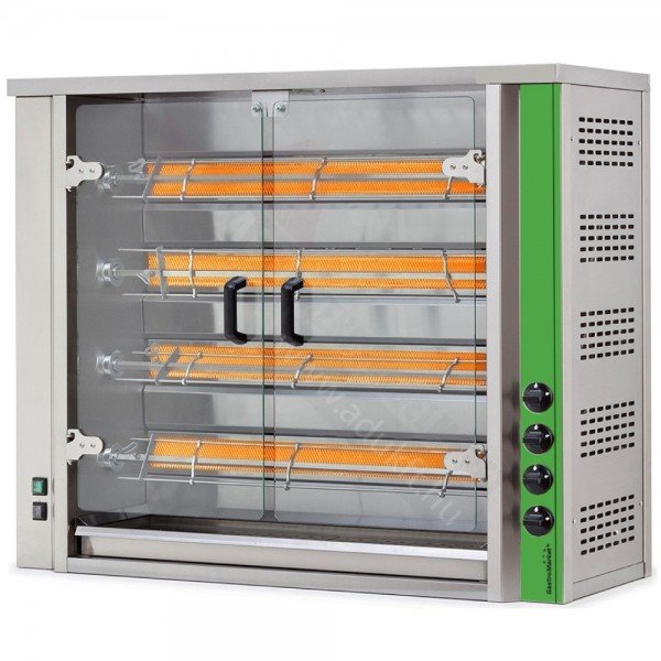 GME4 - Electric grill chicken oven - 16-20 chicken Barbecue chicken oven