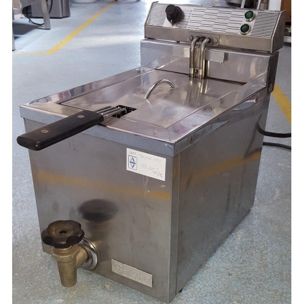 """Bartscher"" 1x8 liter fryer / deep fryer Deep fryer / Fryer"