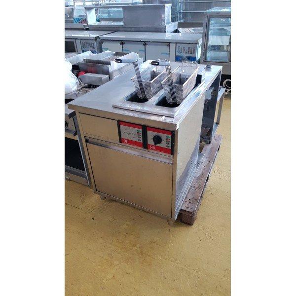 2x9 liter fryer - FriFri FFS 42 E Deep fryer / Fryer