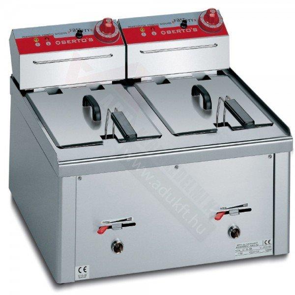 Berto's 2x9 liter fryer Deep fryer / Fryer