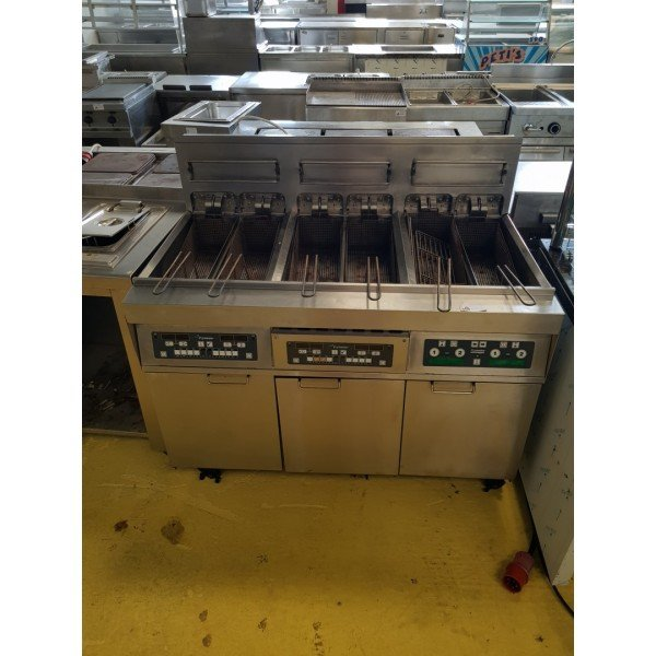 6x10 liter electric fryer - Frymaster H14-2 Deep fryer / Fryer