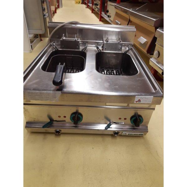 GIGA 8 + 8 L electric fryer Deep fryer / Fryer