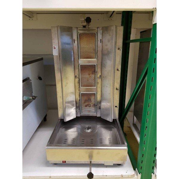 3 burner gyros oven -  bottom motor Gyros grill