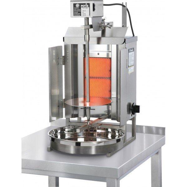 Potis GD1 - Gas Gyros Oven - 7kg Gyros grill