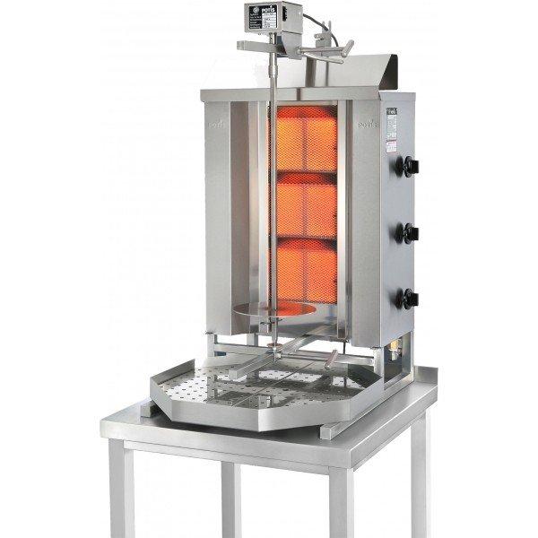 Potis GD3 - gas gyros oven - 40kg Gyros grill