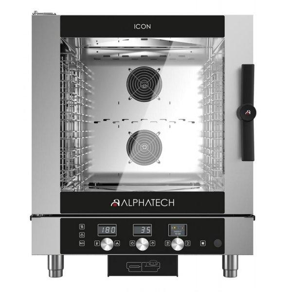 ALPHATECH® ICON-T 7xGN1 / 1 combi oven Combi streamer ovens