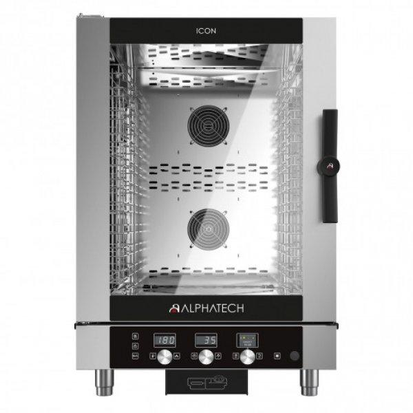 2289 / 5000 Fordítási találatok ALPHATECH® ICON-T 10xGN1 / 1 combi oven Combi streamer ovens