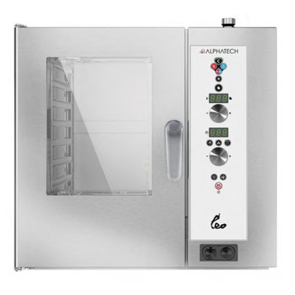Alphatech ALVES071 7-bin combi oven, Digital Combi streamer ovens