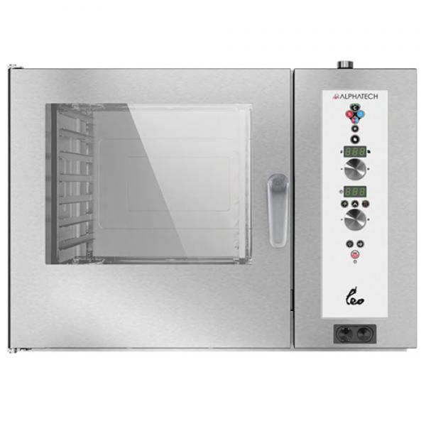 Alphatech ALVES072 7-bin Combi Oven, Digital (GN2 / 1) Combi streamer ovens
