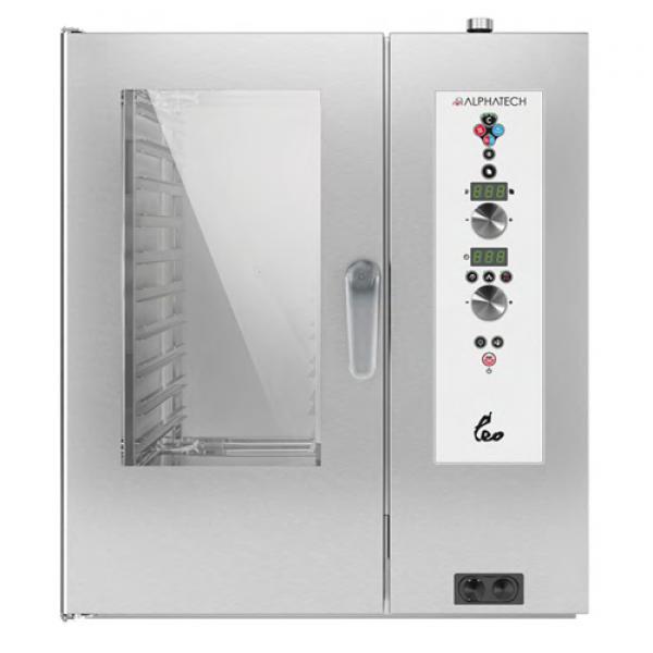 Alphatech ALVES101 10-bin combi oven, Digital Combi streamer ovens